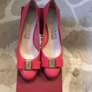 Brand new pink Ferragamo 👠